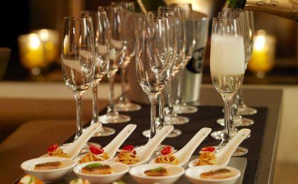 Quali cibi mangiare con lo champagne