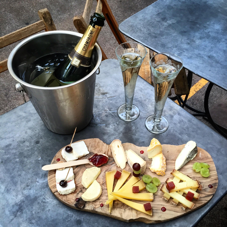champagne e formaggi