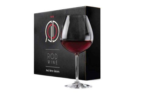 bicchiere da vino rosso