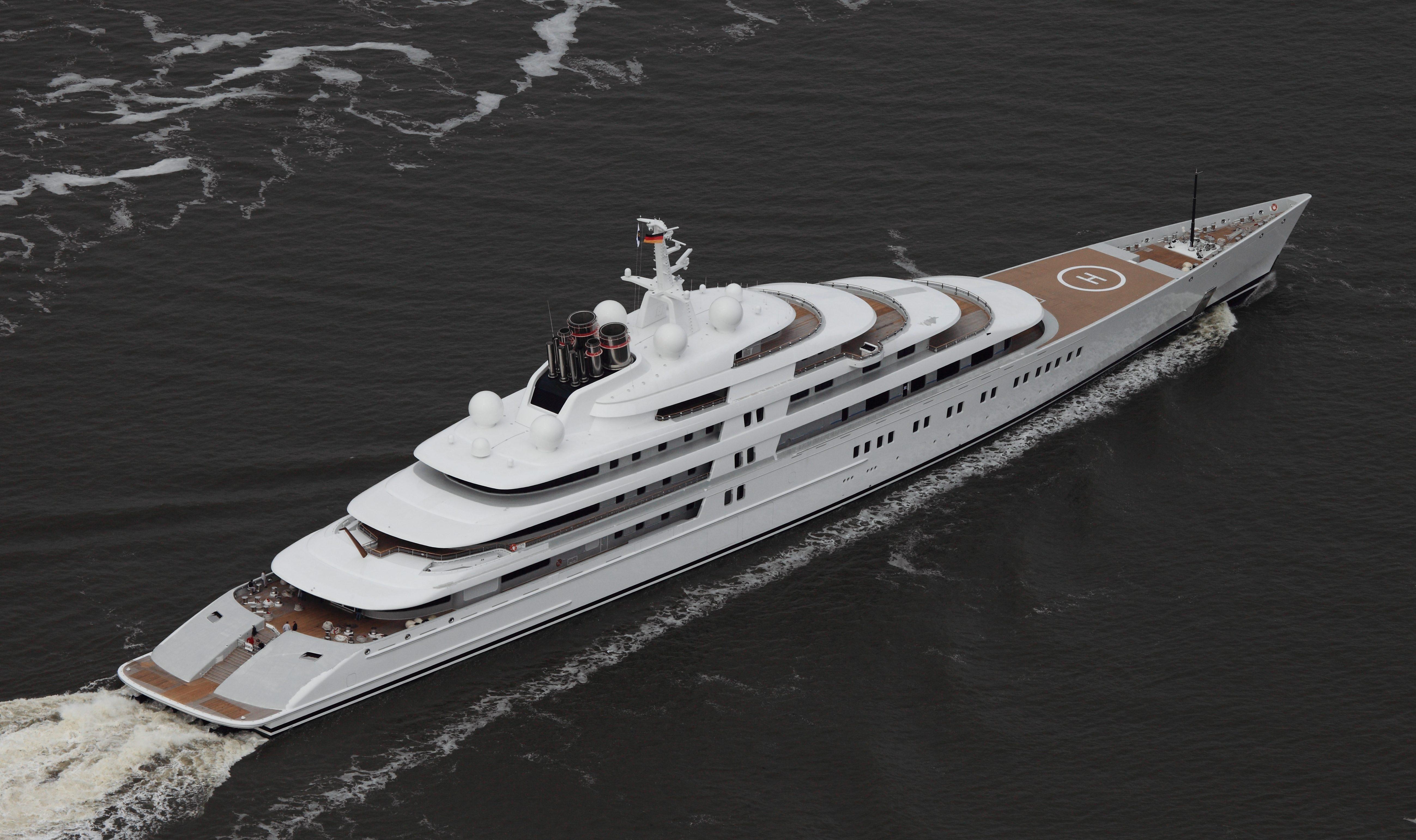 Gli yacht più grandi del mondo, la classifica del 2017