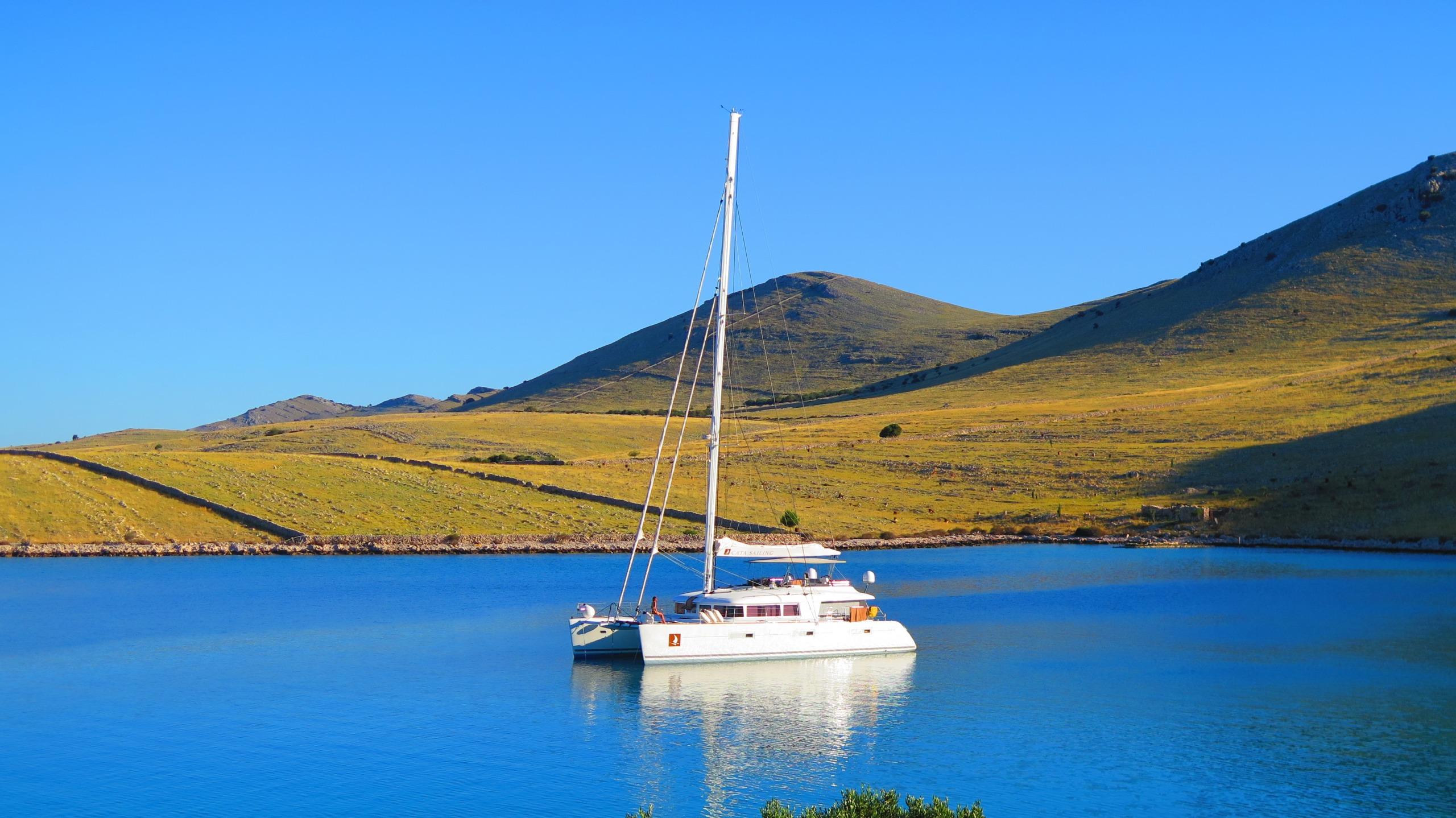 Catamarano di lusso in Croazia