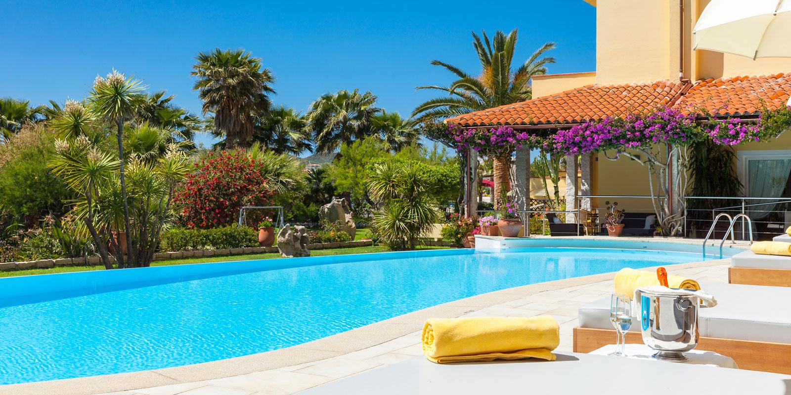 La piscina di Hotel Villa Margherita