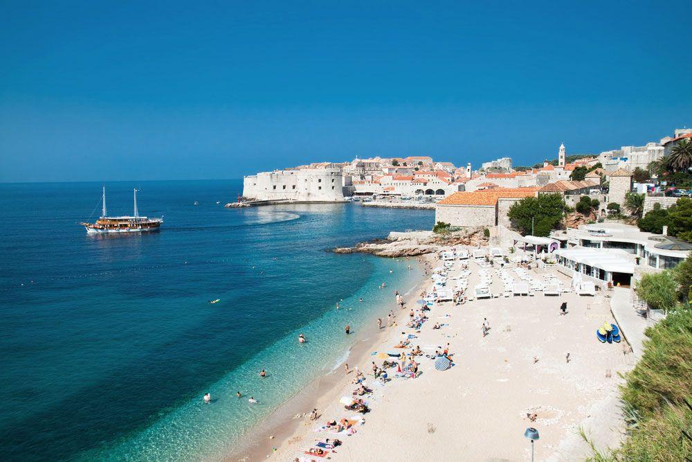 Le più belle spiagge di Dubrovnik in croazia