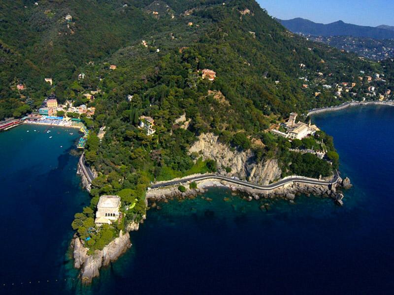 Parco naturale portofino a santa margherita ligure