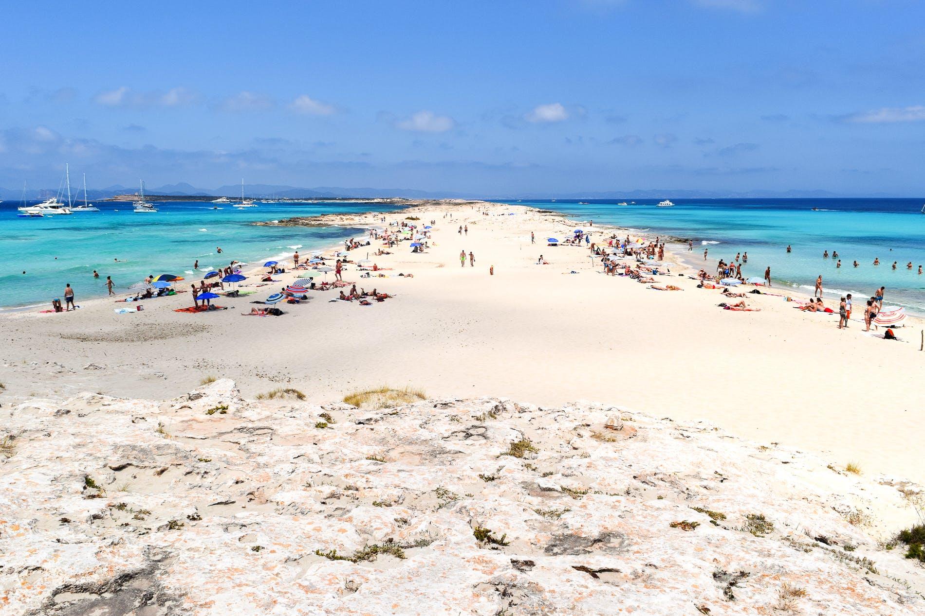 Playa de Llevante a Formentera spiagge vip