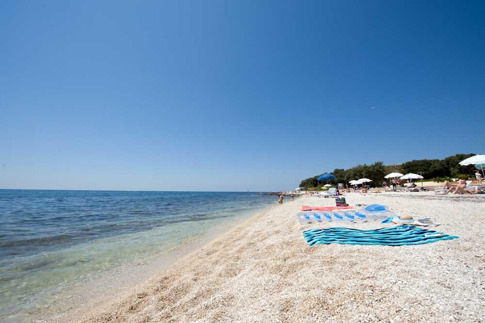 Spiaggia Amarin a Rovigno