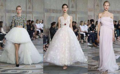 Giambattista Valli: gli abiti da sposa per il 2018 dall'Haute Couture [FOTO]