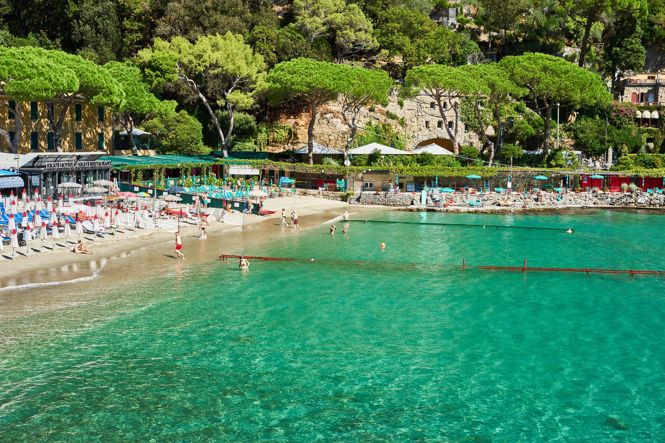 "Beautiful bay of ""Paraggi"""
