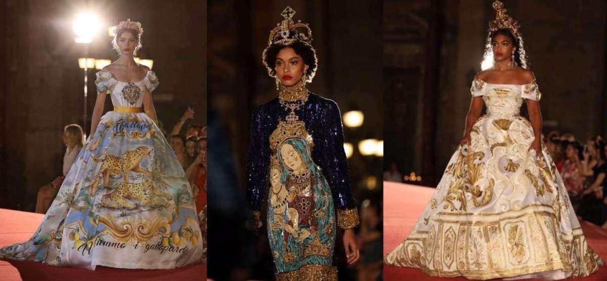 8b2319d4fa Dolce & Gabbana a Palermo: l'Alta Moda Autunno/Inverno 2017-2018 ...