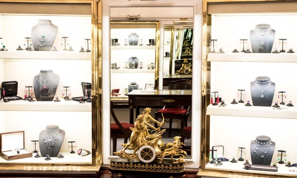 gioielleria villa a milano
