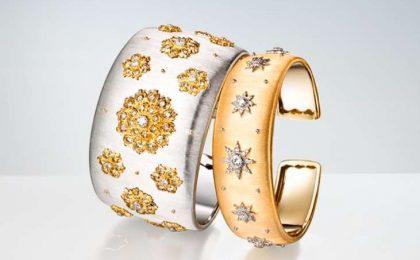 Gioielli Buccellati: anelli, bracciali e orologi del catalogo 2017 [FOTO]