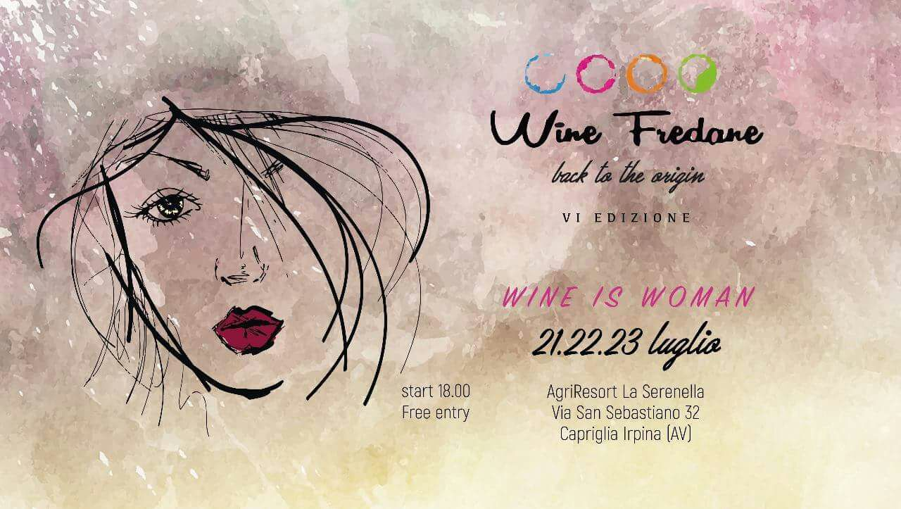 locandina formato evento Wine Fredane 2017
