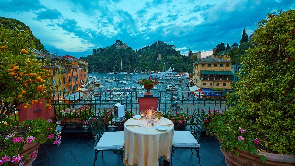 ristorante la terrazza a portofino