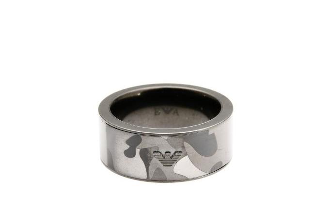 Anello in acciaio Emporio Armani