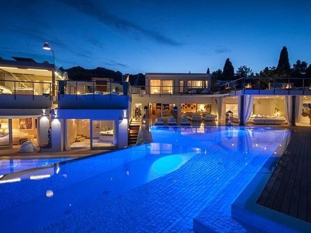La casa di Gianluca Vacchi