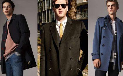 Cappotti uomo: i modelli eleganti per l'Autunno-Inverno 2017-2018 [FOTO]