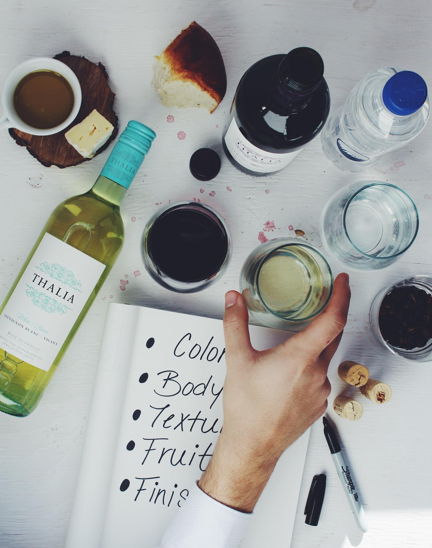 7 regole degustare vino bianco 6