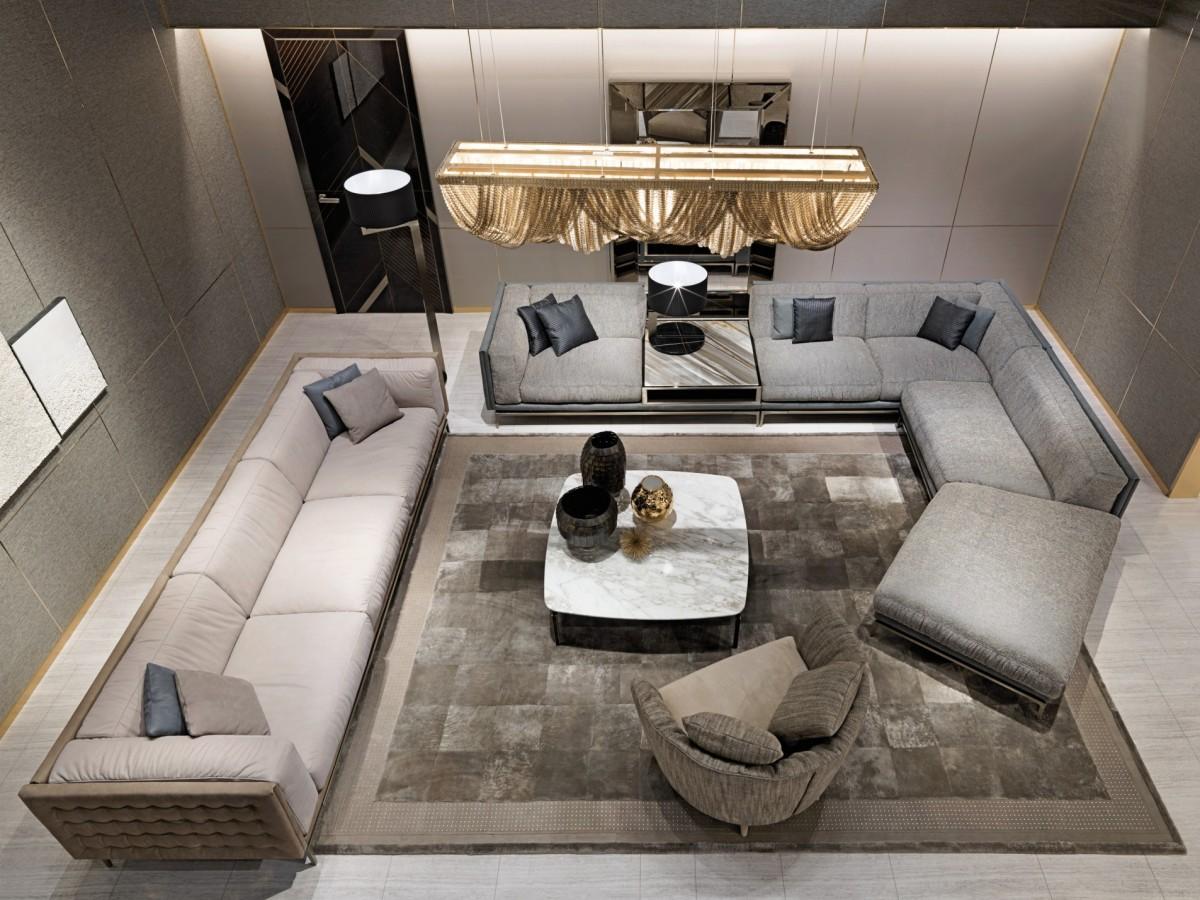 Come arredare soggiorno lusso spazi