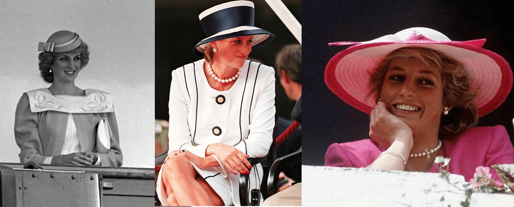 I cappelli di Lady Diana