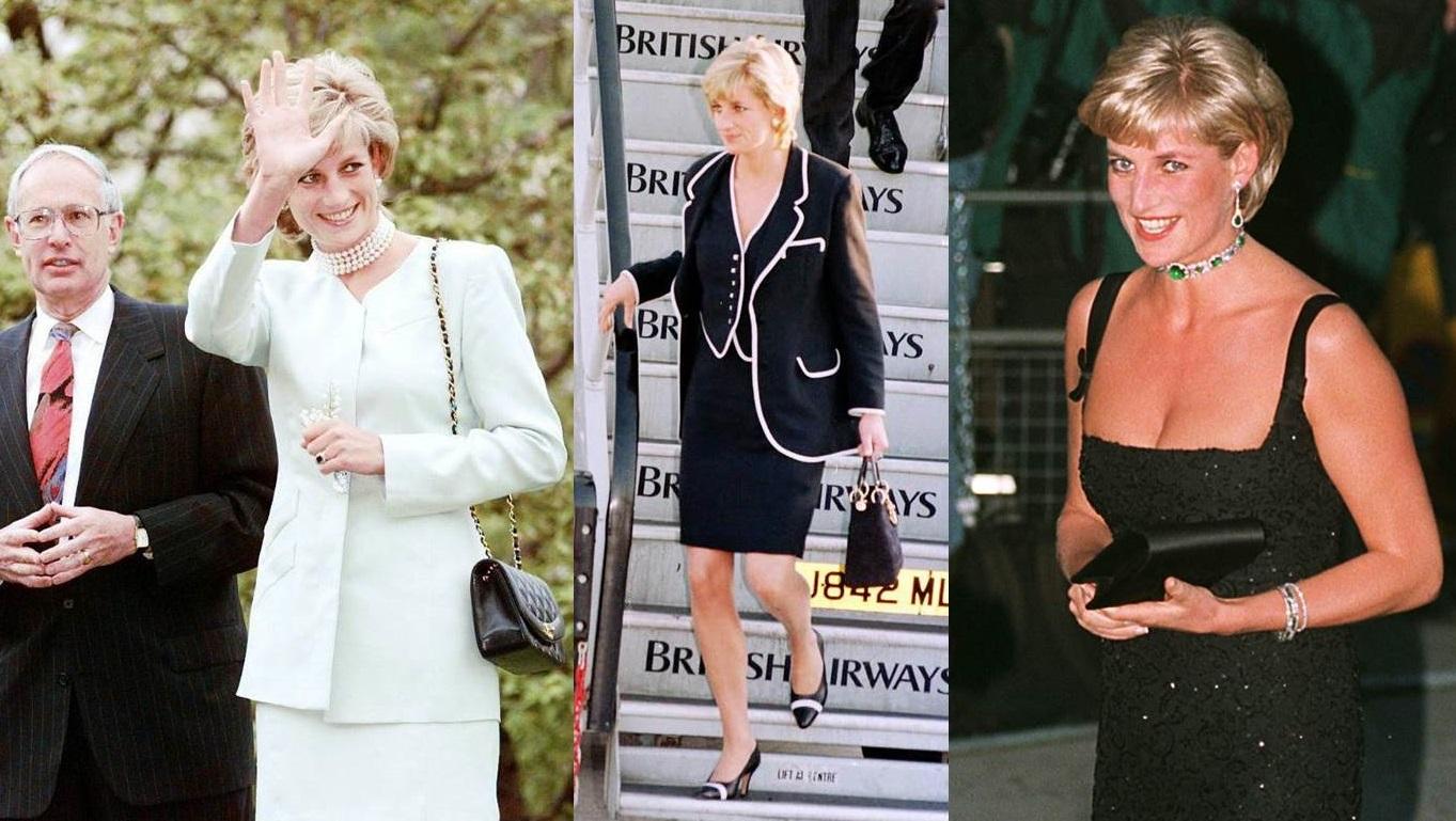 Lady Diana e le borse nere