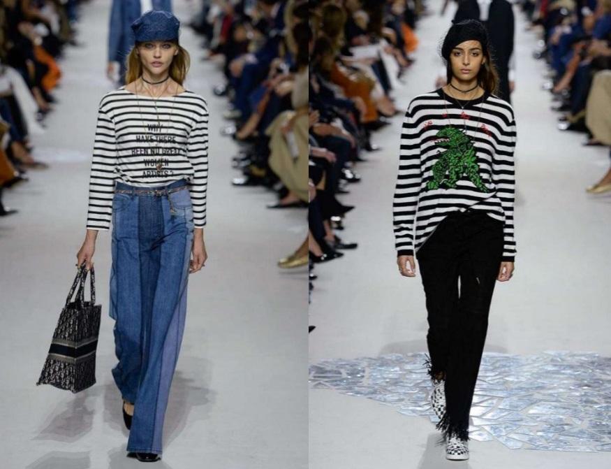 T shirt e pullover Dior primavera estate 2018