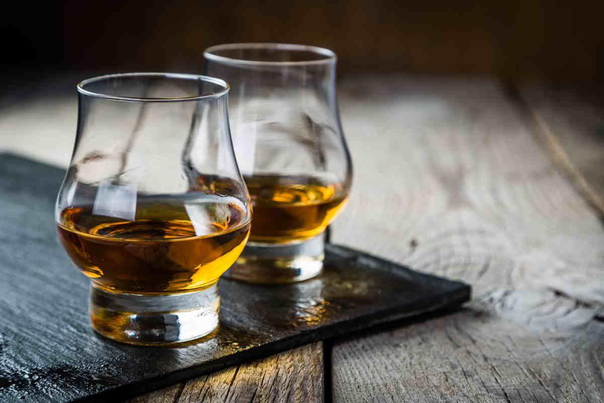 Bicchieri per degustare il whisky