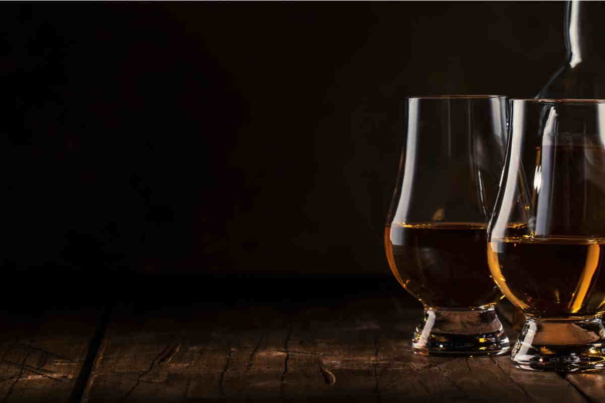 Whisky senza ghiaccio
