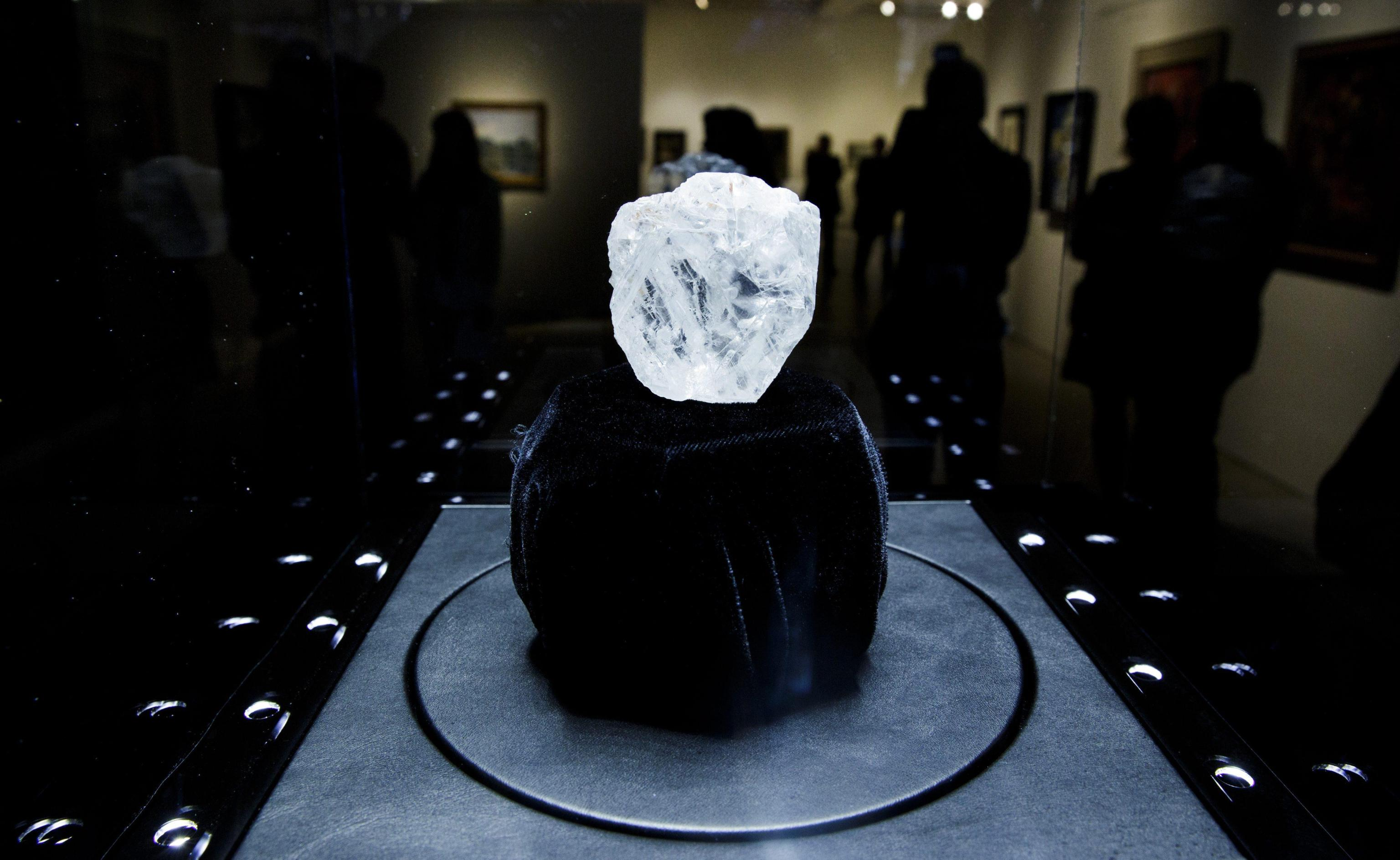 Largest Rough Diamond Auction Preview at Sotheby's