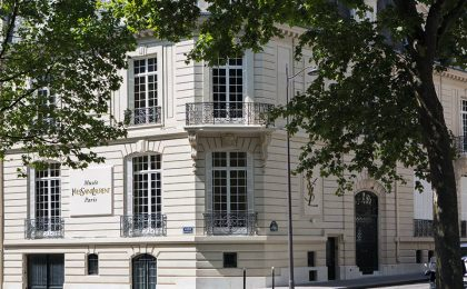 Il museo dedicato a Yves Saint Laurent a Parigi aprirà il 1 ottobre 2017