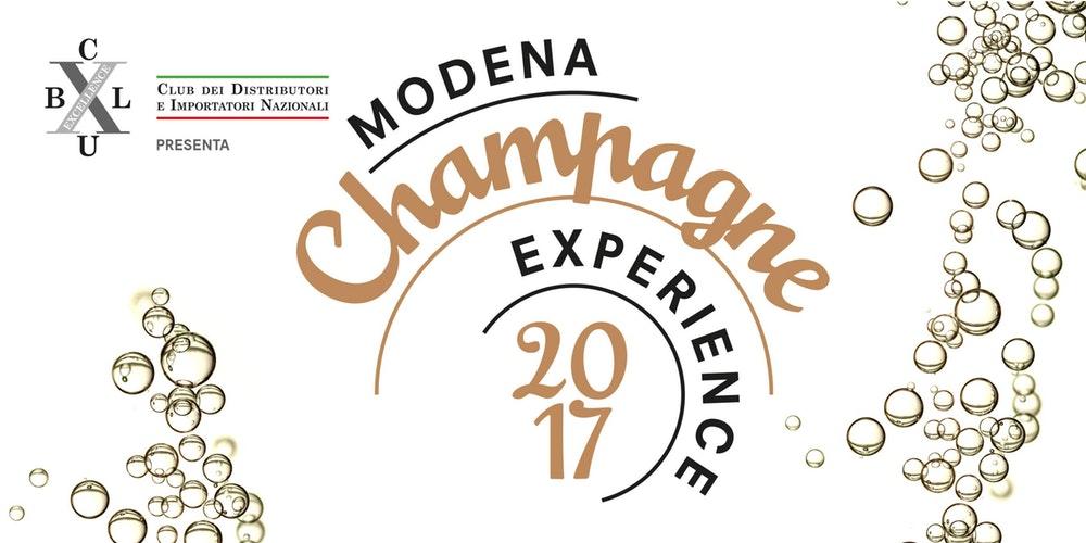 Modena Champagne Experience 2017: due giorni dedicati al vino più pregiato