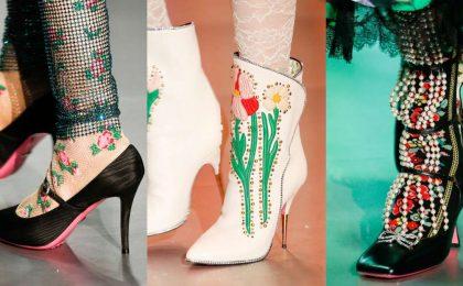 Scarpe Gucci per l'Autunno-Inverno 2017-2018: i modelli più belli della maison italiana [FOTO]