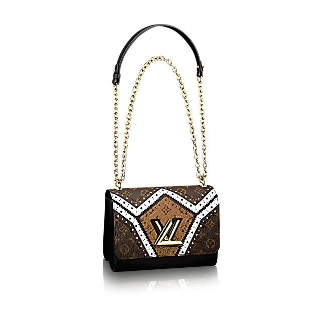 Borsa a tracolla Twist MM Louis Vuitton