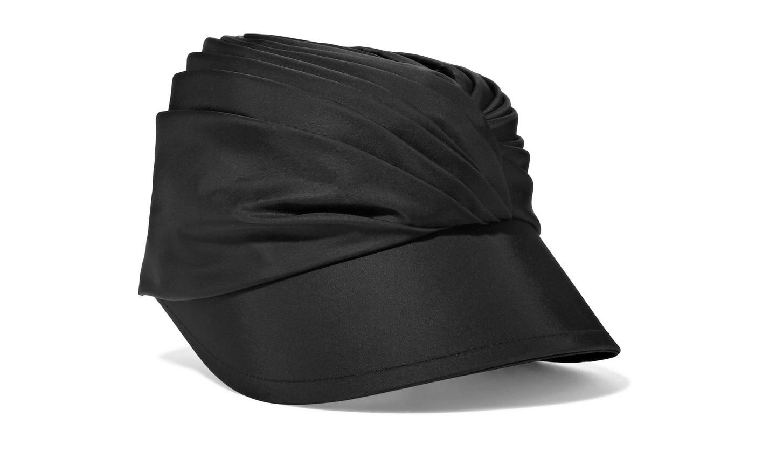 Cappello in satin Prada