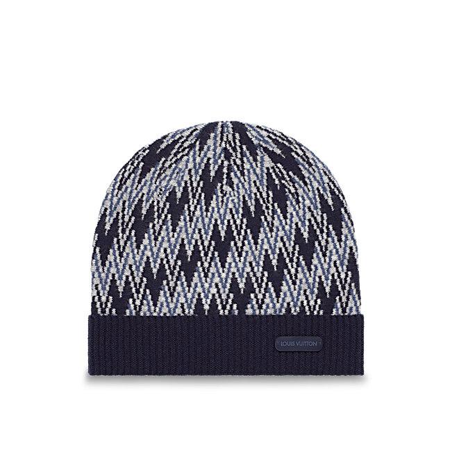 Cappello uomo lavorato a maglia Louis Vuitton