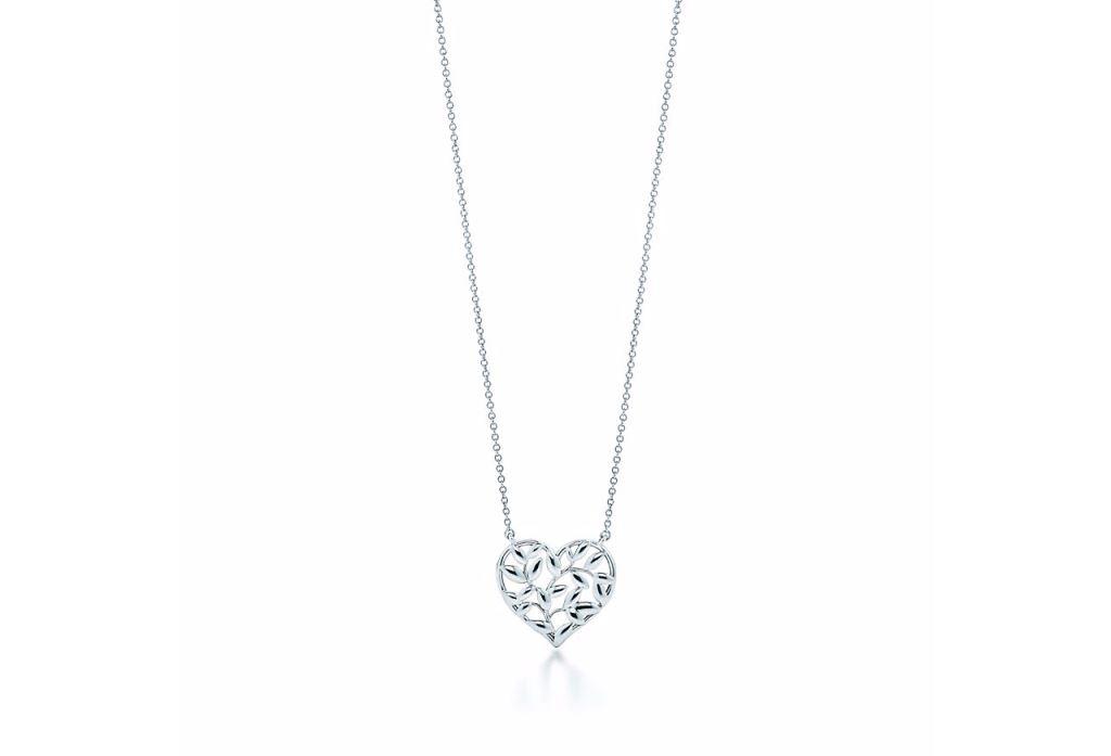 Collana Tiffany in argento con pendente a cuore