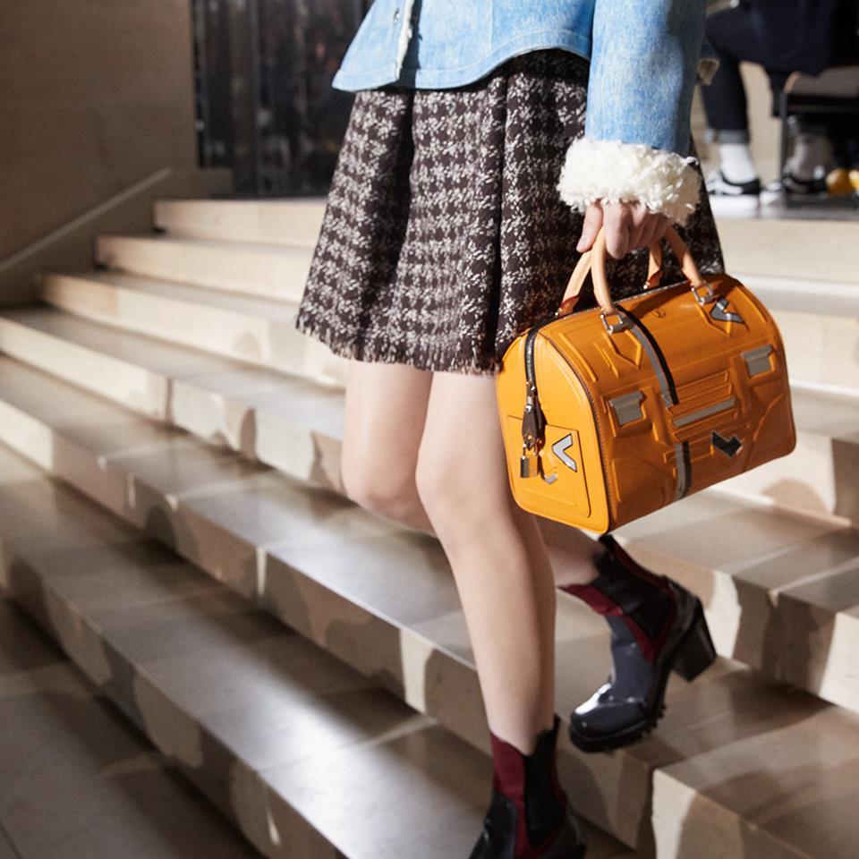 Mini bauletto in pelle Louis Vuitton