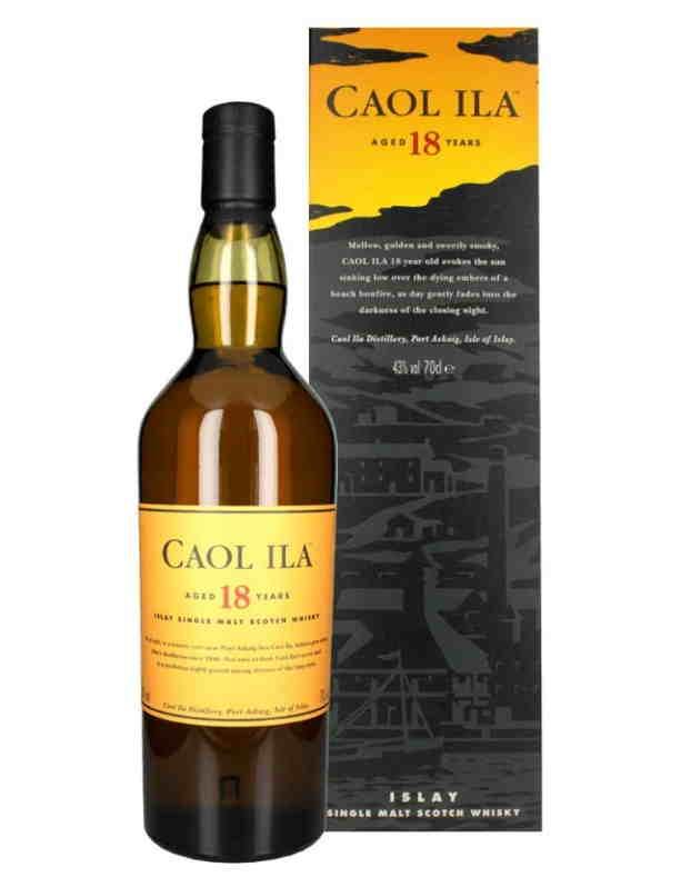 Whisky torbato Caol Ila