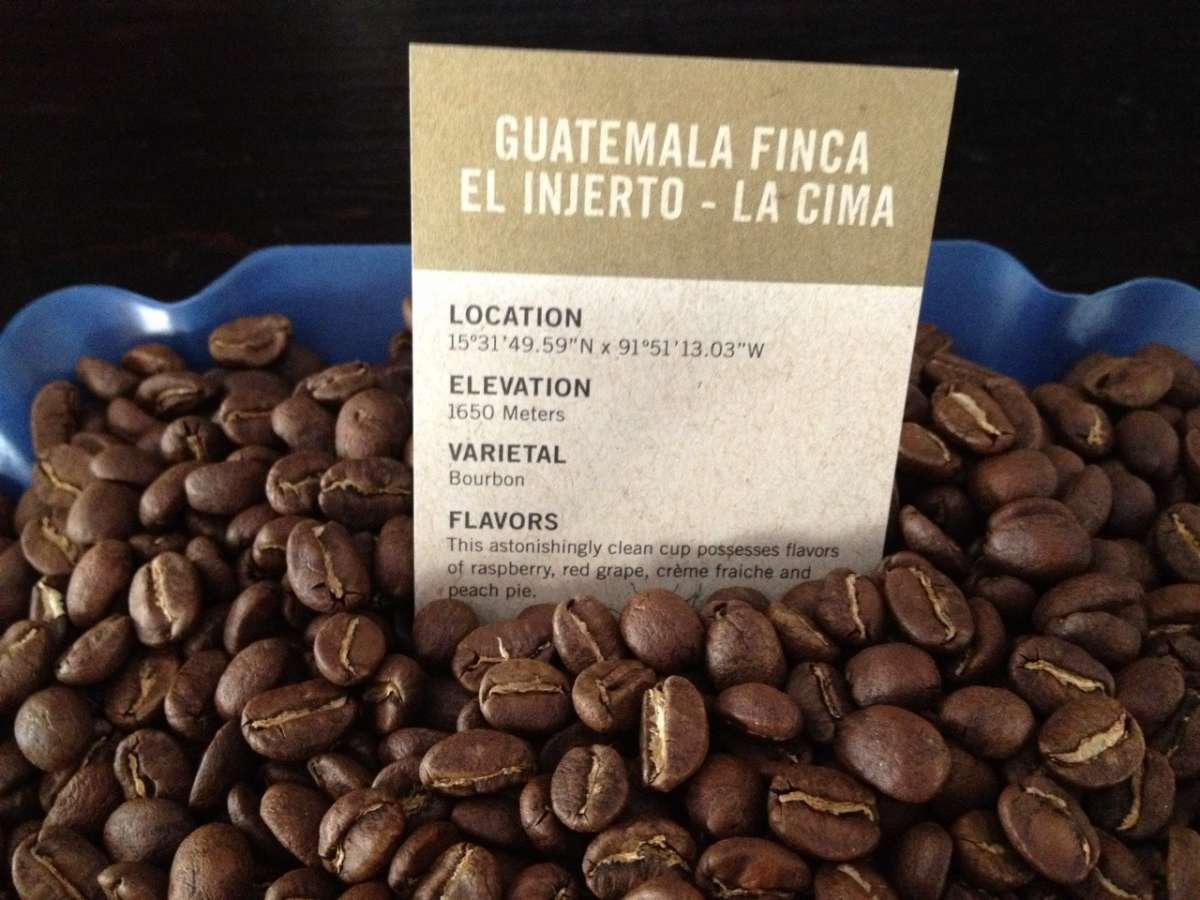 dal guatemala il caffe el injerto