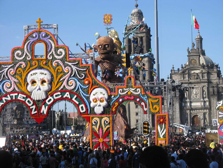 mexico city dia de los muertos
