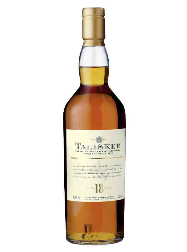 Whisky torbato Talisker