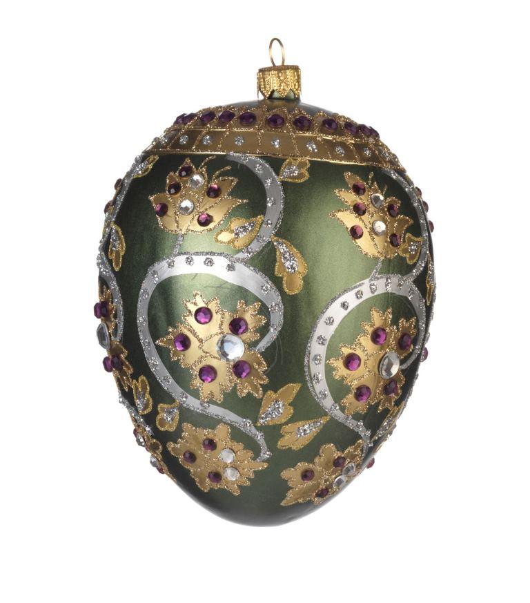 Addobbo di Natale in vetro laccato Harrods