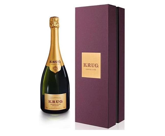 Champagne Brut Grande Cuvée 163ème Édition Krug