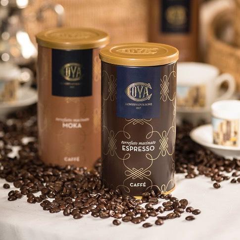 Confezioni di caffè Pasticceria Cova