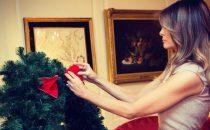 Natale alla Casa Bianca: le decorazioni di Melania Trump incantano il mondo
