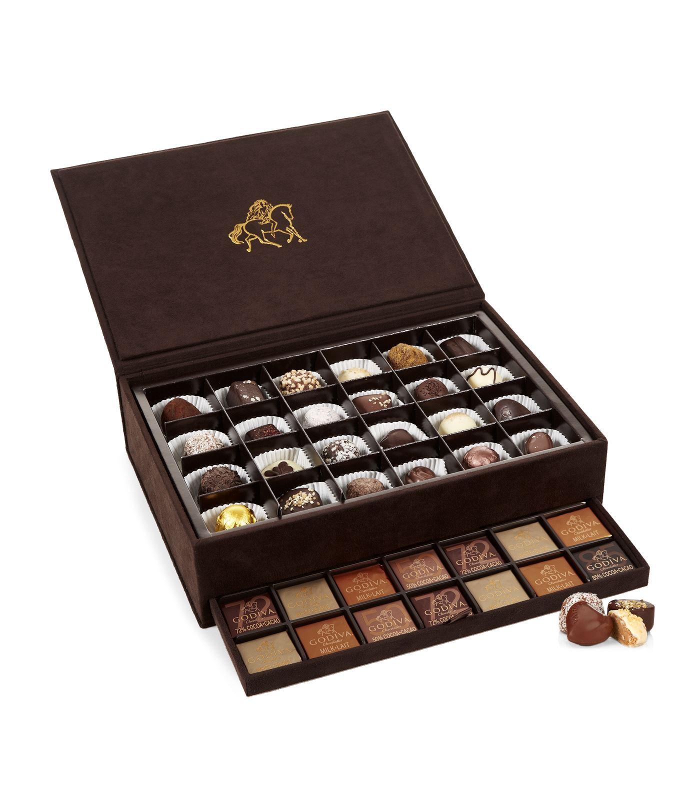 Set da 59 pezzi di cioccolata Godiva