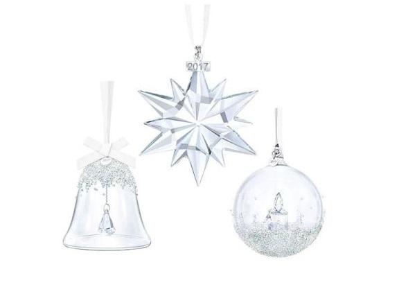 Set di addobbi natalizi Swarovski