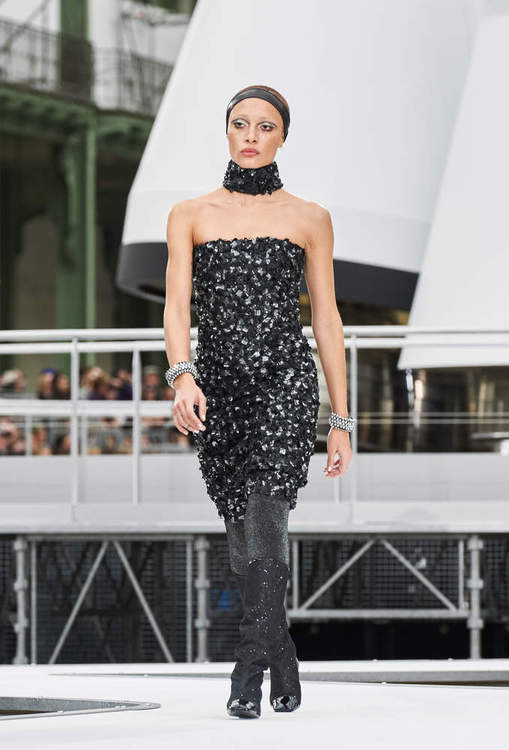 Vestito da sera corto Chanel