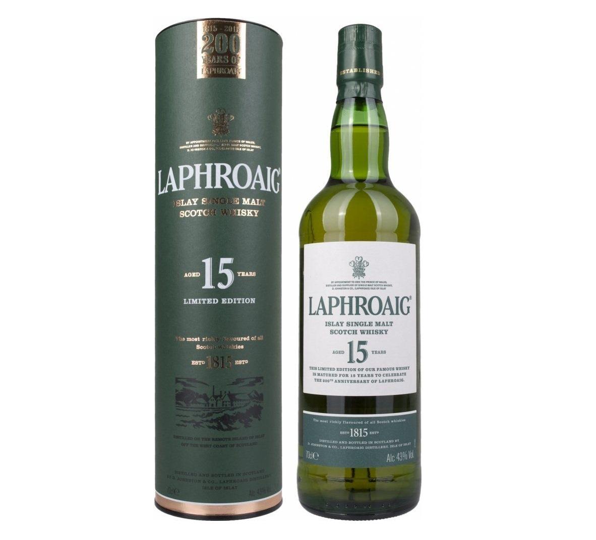 Whisky torbato Laphroaig