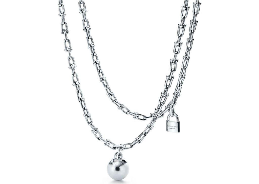 Collana in argento Tiffany collane 2018