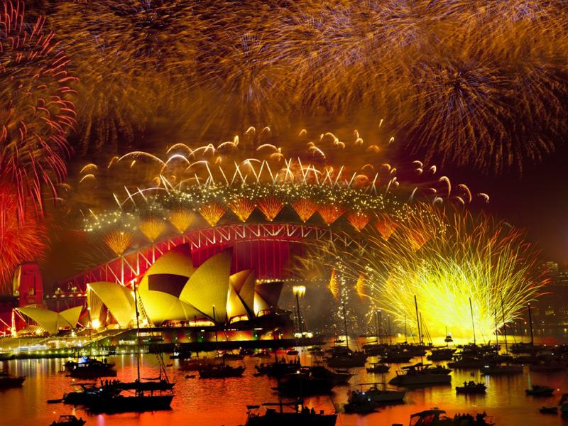 new years eve fireworks sydney